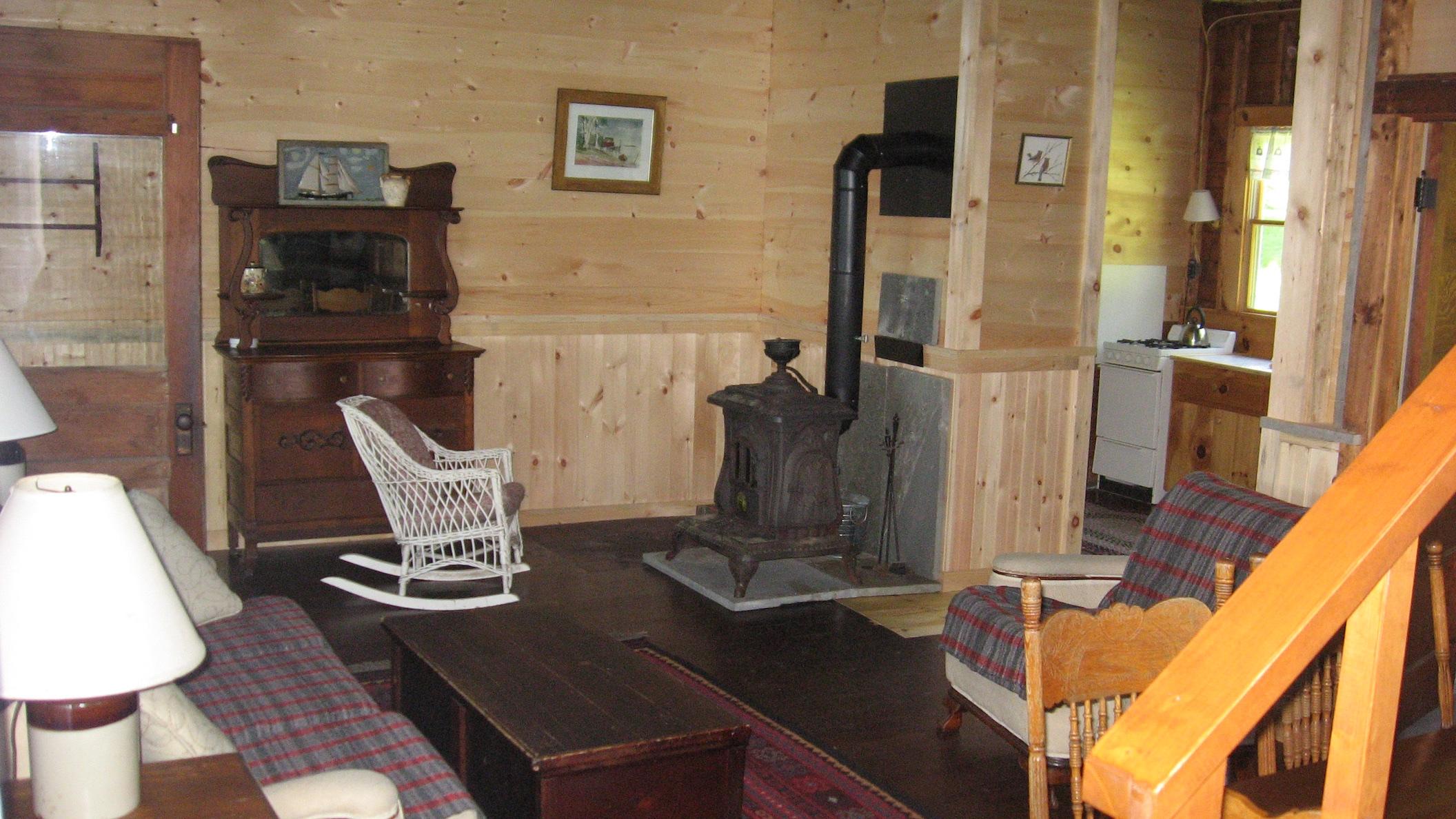 Oaks North: Living Room