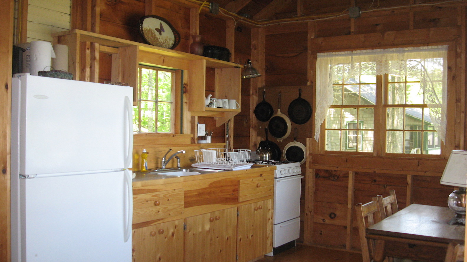 Pine Lodge: Kitchen