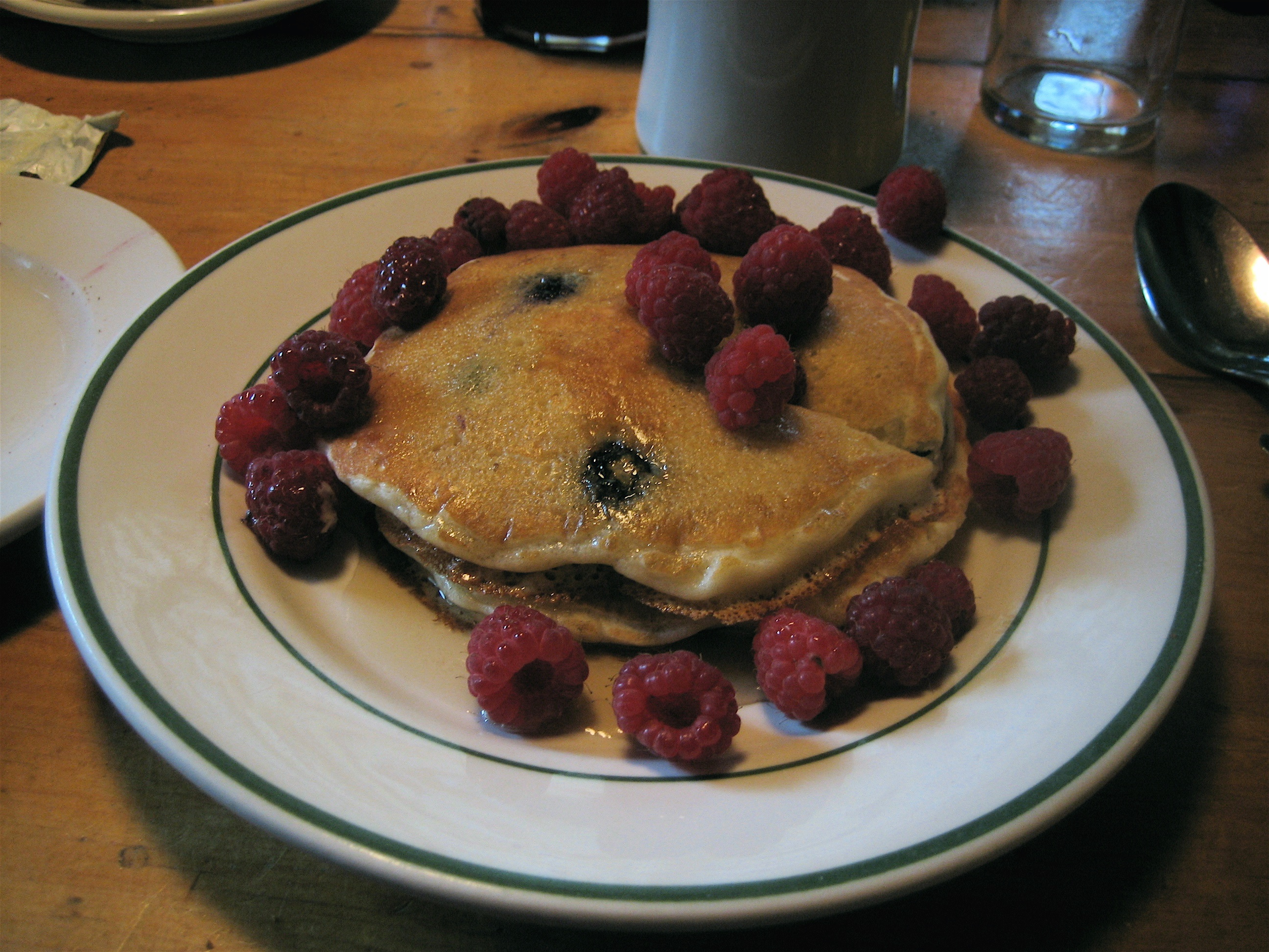 Hiram Blake Camp, Harborside, Maine | pancake breakfast