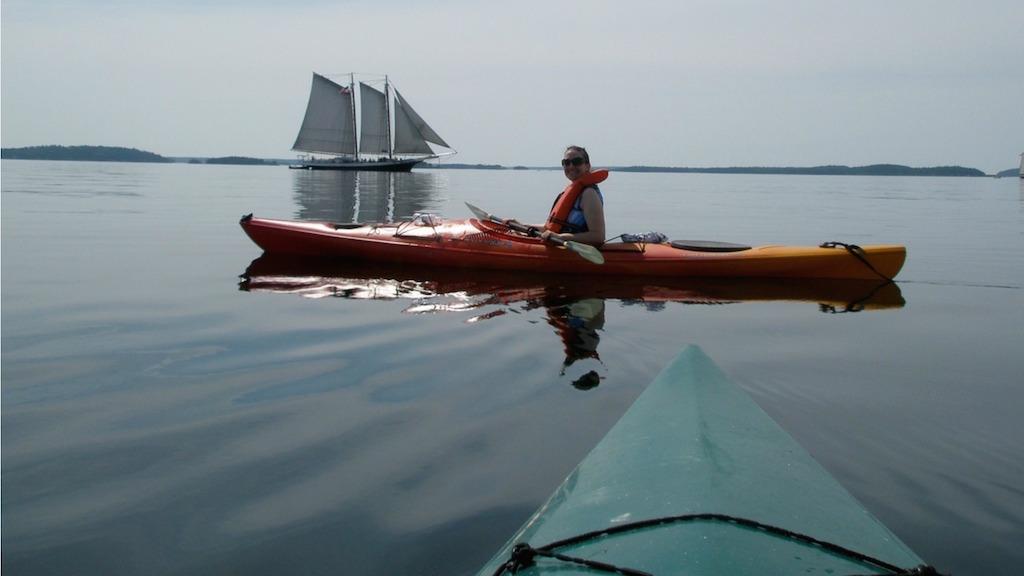 Rent Kayaks at Hiram Blake Camp